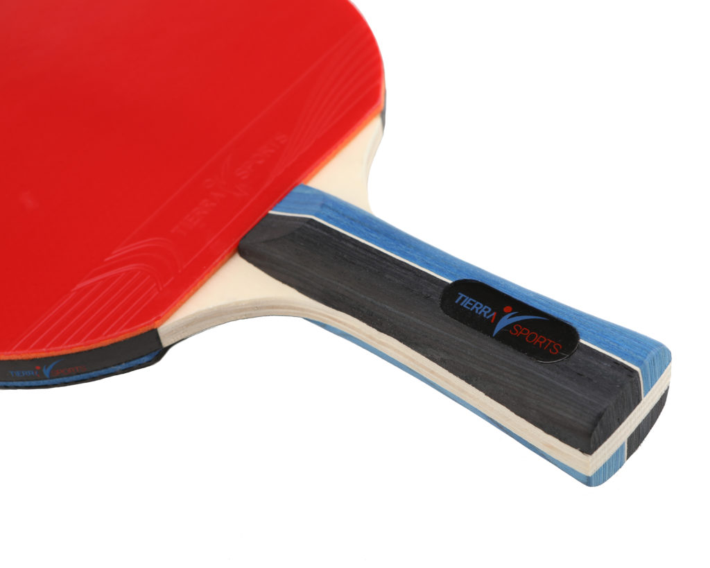 ping pong paddle product photography white background